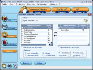 Editer des étiquettes Colissimo avec Expeditor-Inet