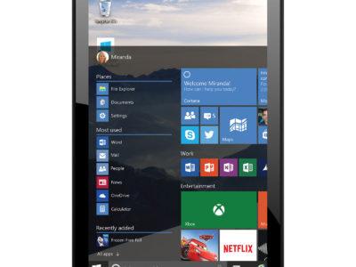 Une tablette sous Windows inutilisable dans mon projet